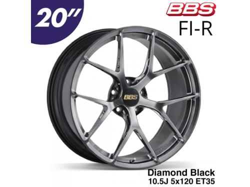 "BBS FI-R 20"" 10.5J 5x120 ET35 鋁圈 Diamond Black(DB)"