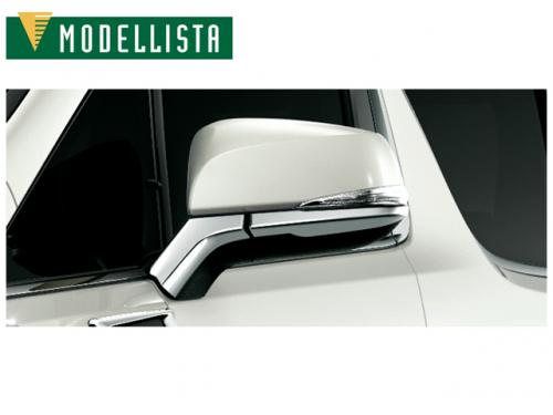 MODELLISTA MIRROR GARNISH 後照鏡鍍鉻飾板 TOYOTA ALPHARD 2018-