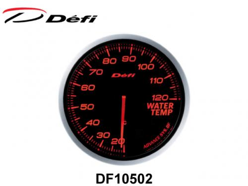 DEFI ADVANCE BF WATER T. METER 60mm(RED) 高反差水溫錶 60mm(紅) DF10502