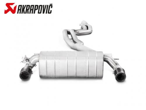 AKRAPOVIC EVOLUTION LINE 中尾段(鈦合金+CARBON尾) BMW F22 M240i 2016-