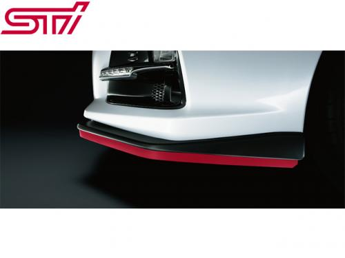 STI FRONT SIDE LIP(Cherry Red) 前下巴(膠條式) 紅色 SUBARU LEVORG 2015-
