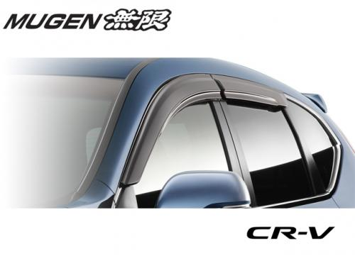 MUGEN POWER 無限 VENTILATED VISOR 晴雨窗 HONDA CR-V 5代 2017-