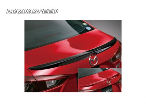MAZDASPEED REAR SPOILER 鴨尾(黑) MAZDA3 BM SEDAN 2015-