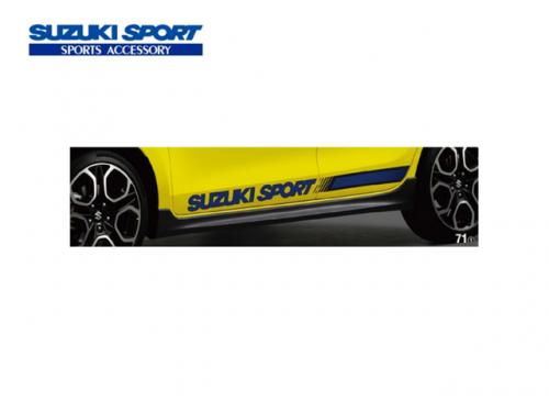 SUZUKI SPORT 車側貼紙(藍) SUZUKI SWIFT SPORT 2017-