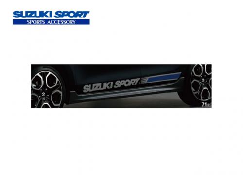 SUZUKI SPORT 車側貼紙(銀) SUZUKI SWIFT SPORT 2017-