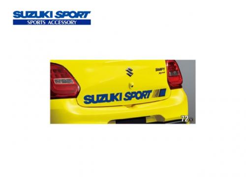 SUZUKI SPORT 尾門貼紙(藍) SUZUKI SWIFT SPORT 2017-