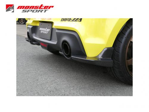MONSTER SPORT CARBON 後下擾流 SUZUKI SWIFT SPORT 2018-