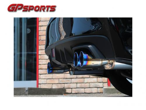 GP SPORTS EXAS EVO Tune 四出尾段 SUBARU WRX S4 2014-