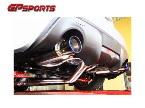 GP SPORTS EXAS EVO Tune 排氣管 TOYOTA 86 / SUBARU BRZ 2013-