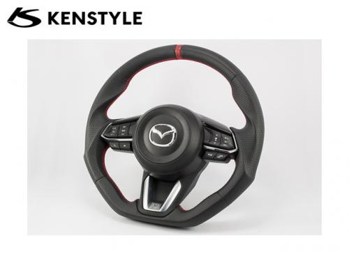 KENSTYLE STEERING WHEEL RED STICH MD03 紅線方向盤 MAZDA3 BM 2017- MD03
