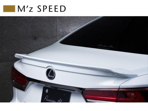 M'z SPEED Trunk Spoiler 後廂尾翼 LEXUS LS500 2017-