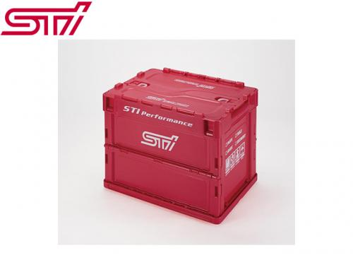 STI FOLDING CONTAINER 摺疊箱(CHERRY RED) S-SIZE