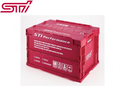STI FOLDING CONTAINER 摺疊箱(CHERRY RED) M-SIZE