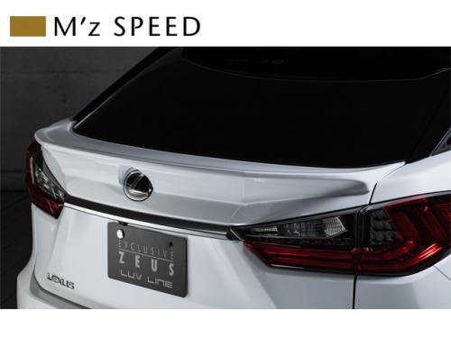 M'z SPEED Rear Gate Spoiler 尾門尾翼 LEXUS RX200t 2016-