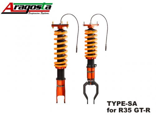 ARAGOSTA TYPE-SA COILOVER KIT 避震器組 NISSAN GT-R R35 2008-