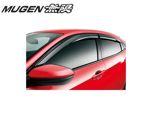MUGEN POWER 無限 VENTILATED VISOR 晴雨窗 HONDA CIVIC TYPE R FK8 2017-
