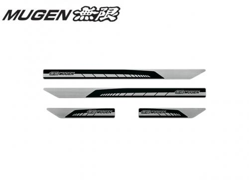 MUGEN 無限 Scuff Plate(BLACK) 迎賓踏板(黑色) HONDA CIVIC TYPE R FK8 2017-