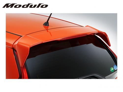 MODULO TAIL GATE SPOILER 車頂尾翼(白) HONDA FIT GK 2014-