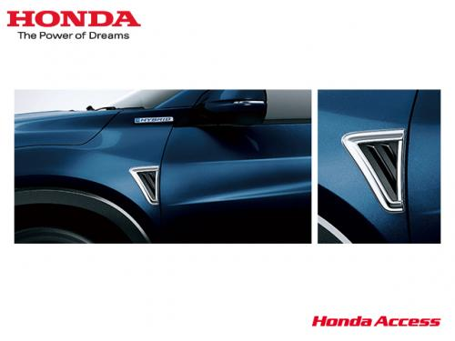 HONDA Fender garnish 日規葉子板飾板 HONDA HR-V 2016-