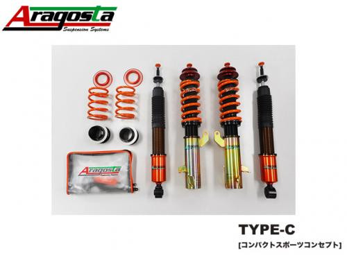 ARAGOSTA TYPE-C COILOVER KIT 避震器組 SUZUKI SWIFT SPORT 2018-