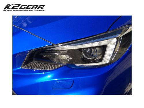 K2GEAR CARBON EYE LINE 一對 SUBARU LEVORG 2015-