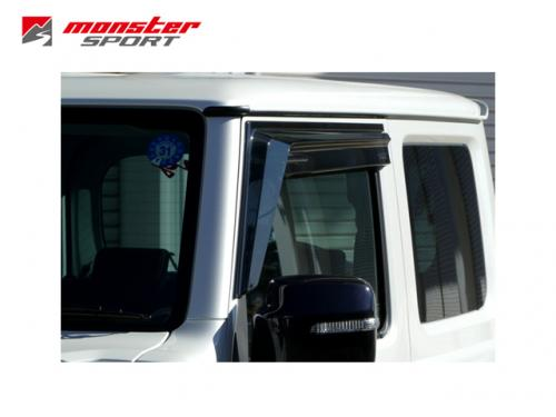 MONSTER SPORT WINDOW AERO VISOR 晴雨窗 SUZUKI JIMNY 2019-
