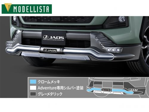 MODELLISTA-JAOS Bumper 前下保桿 TOYOTA RAV4 ADVENTURE 2019-
