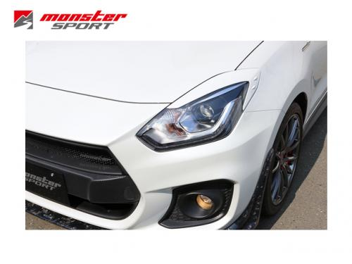 MONSTER SPORT 燈眉(白) SUZUKI SWIFT SPORT 2018-