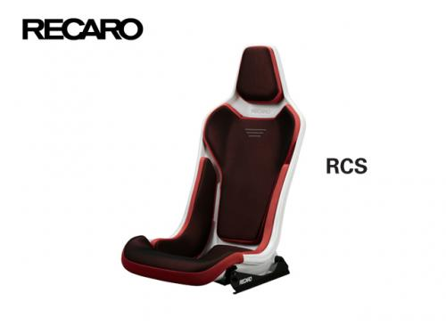 RECARO RCS 賽車椅 White Shell Red x Red