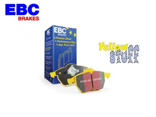 EBC YELLOWSTUFF BRAKE PAD FRONT 前來令片(黃皮) JAGUAR F-PACE 2016-  350mm碟盤