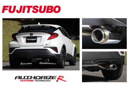 FUJITSUBO AUTHORIZE R 中尾段 TOYOTA C-HR 2WD 2018-