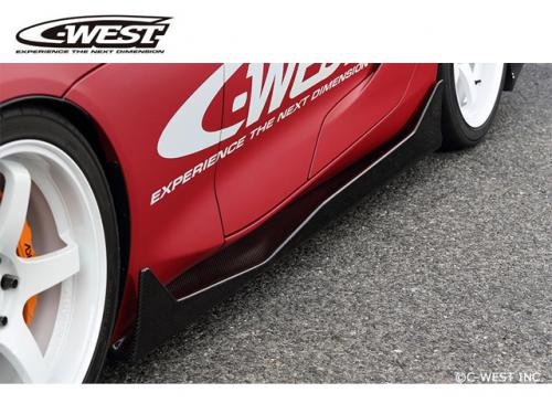 C-WEST Side Fence 側裙(PFRP) TOYOTA SUPRA 2019-