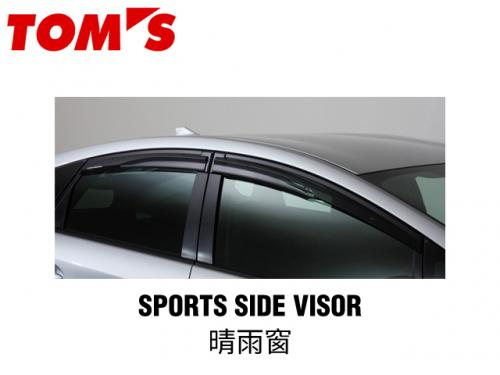 TOM'S SPORTS SIDE VISOR 晴雨窗 TOYOTA PRIUS 2009-2015