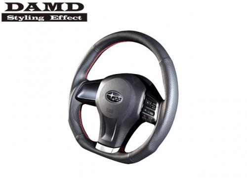 DAMD STEERING WHEEL RED STITCH 紅線方向盤 FORESTER XT 2013-