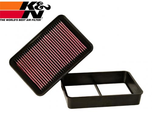 K&N Replacement Air Filter 高流量空氣濾芯 33-2392 MITSUBISHI LANCER 2008-2015