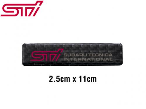 STI CARBON STICKER 貼紙 STSG12100910