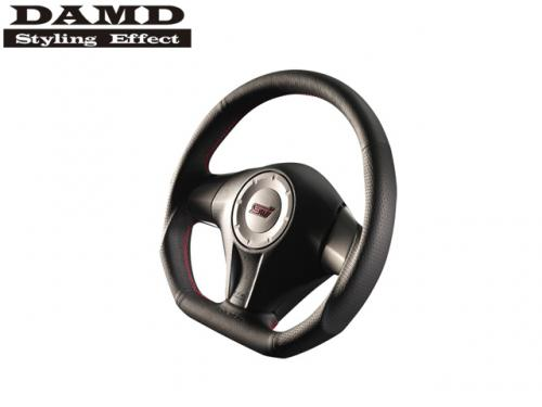 DAMD STEERING WHEEL RED STITCH 紅線方向盤 SUBARU IMPREZA STI GR/GV