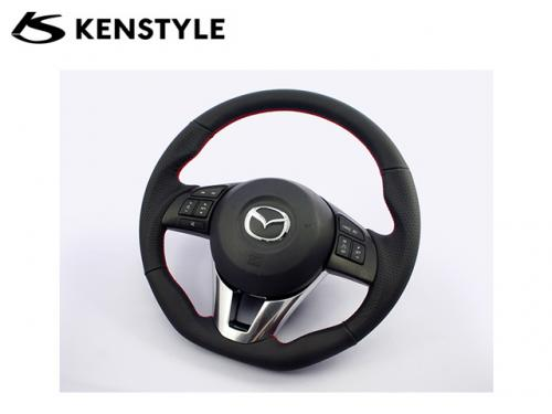 KENSTYLE STEERING WHEEL RED STICH 紅線方向盤 MAZDA6 GJ 2014-