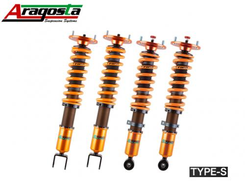 ARAGOSTA TYPE-S COILOVER KIT 避震器組 SUBARU LEGACY BM 2009-2014