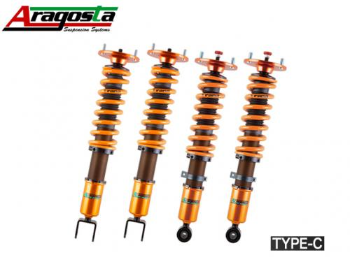 ARAGOSTA TYPE-C COILOVER KIT 避震器組 TOYOTA YARIS 2007-2013