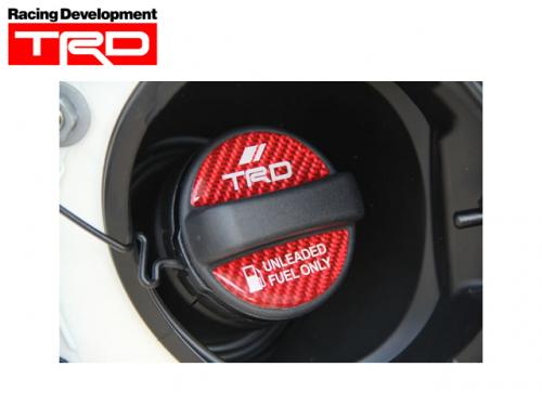 TRD FUEL CAP GARNISH 油箱蓋貼紙 MS010-00015