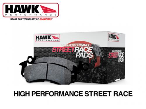 HAWK High Performance Street Race (F) 來令片(前) HB135R.770 BMW M3 E36 1995-1997