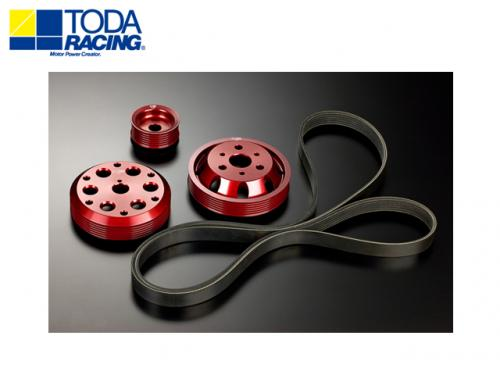 TODA RACING LIGHT WEIGHT FRONT PULLY KIT 輕量化普利盤組 TOYOTA 86 / SUBARU BRZ 2013-