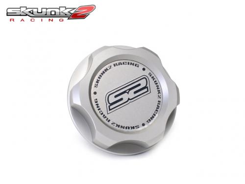 SKUNK2 Black Series Billet Oil Cap 機油蓋(銀) HONDA車系