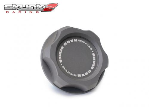 SKUNK2 Black Series Billet Oil Cap 機油蓋(灰) HONDA車系