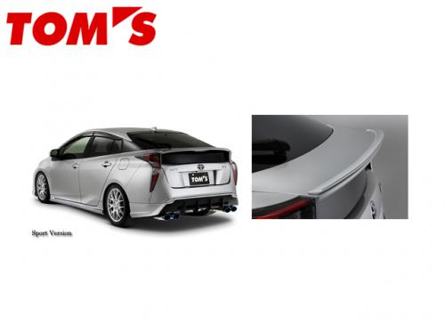 TOM'S TRUNK LID SPOILER 後車箱尾翼 TOYOTA PRIUS ZVW50 2016-