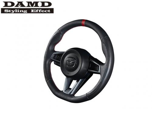 DAMD STEERING WHEEL RED STITCH 紅線方向盤 MAZDA MX-5 ND 2016- NAPPA皮革