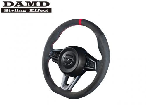 DAMD STEERING WHEEL RED STITCH 紅線方向盤 MAZDA MX-5 ND 2016- 麂皮