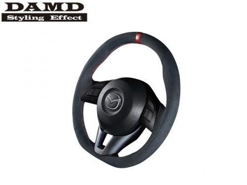 DAMD STEERING WHEEL RED STITCH 紅線方向盤 MAZDA CX-5 2013-2017 麂皮