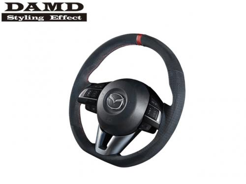DAMD STEERING WHEEL RED STITCH 紅線方向盤 MAZDA6 GJ 2014- 麂皮